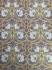 William Morris Fabric - 'pimpernel' - By the metre