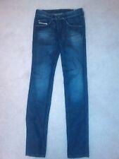 Fab DIESEL Dark Blue/Faded Straight Slim Fit Jeans size26/34L.Worn twice