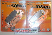 2 Jeux Plaquettes de frein avant Suzuki DL 650 V-Strom 2004 à 2016 S1352N/1435N