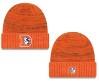 New Denver Broncos Sport Knit Cuff Ski Beanie Skull Hat Cap Orange NFL NWT Fast
