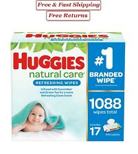 Huggies Natural Care Baby Wipe Refill, Refreshing Clean 1,088 ct.