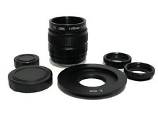 Fujian-50mm F1.4 CCTV Movie Lens w/ C-EOS Adapter to Canon EOS EF 6DII 5DIV 7DII