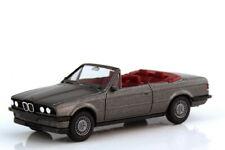 1:87 BMW 3er 325i Cabrio E30 delphingrau-metallic grau grey IA rot - herpa 3059