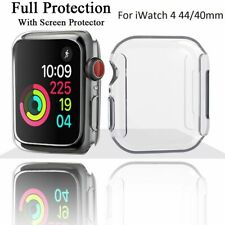 Slim Soft Silicone Case For Apple Watch Series 4 40 44mm Cover Screen Protector