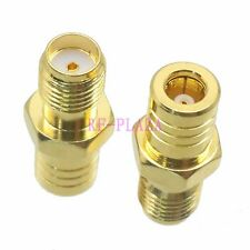10pcs Adapter SMA female jack to SMB female jack straight RF COAXIAL