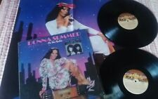 DONNA SUMMER Greatest hits on the radio 2x LP Vinyl with poster, Spain