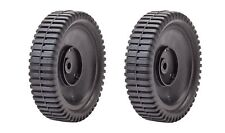 (2) 72-014 Oregon Front Drive Wheel Compatible with Craftsman 700953