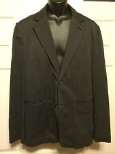 AX  Armani Exchange Mens Dark Gray Blazer Mens Large