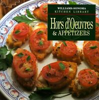Hors DOeuvres & Appetizers (Williams-Sonoma Kitchen Library) by Williams, Chuck