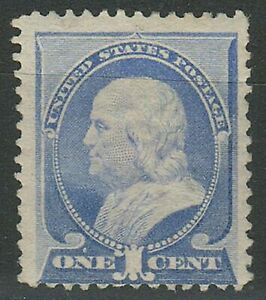 United States 1887 ☀ 1 Cent - Benjamin Franklin SG.217  ☀ MNH** - Unused