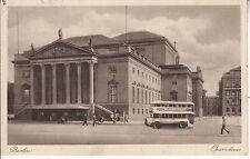 Postkarte - Berlin / Doppelstockbus vor Opernhaus