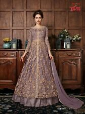Designer Long Salwar kameez Suit indian Party Wear Pretty Dress LF Vipul DN4530