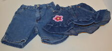 POLO JEANS Girls's Jean Shorts Size 3-6 Months LOVE SO SWEET Shorts Size 6 month