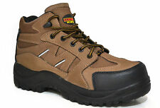Samson XL 7204 Size 7 Brown Composite Toe Waterproof Metal Free Safety Boots