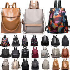 Women Waterproof Anti-Theft Shoulder Bags Casual Rucksack School Travel Backpack