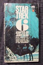 1972 STAR TREK 6 by James Blish 1st Corgi Paperback VG/FN