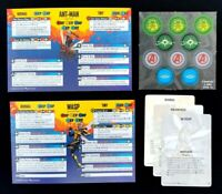 Rules Cards Tokens - Ant-man and Wasp - Expansion Marvel Crisis Protocol