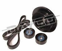 POWERBOND 25%UNDERDRIVE PULLEY BALANCER KIT FOR JEEP WK WH 5.7 HEMI CHRYSLER 300