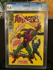 AVENGERS #52 CGC 9.4 BLACK PANTHER JOINS THE AVENGERS !! 5/1968