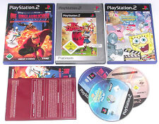 3 Top Kids Games for Playstation 2 e.g. Jak Daxter; Spongebob; unglaublic