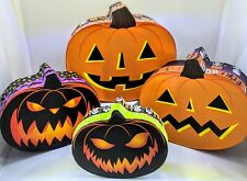 Set of 4 halloween Nesting Pumpkin shaped Gift Boxes