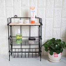 3Tier Kitchen Bathroom Shelf Storage Rack Stand Condiment Spice Organizer Holder