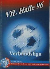 Programm 2001/02 VfL Halle 96 - Schönebecker SV