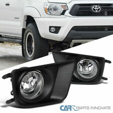 For 12-15 Tacoma Clear Bumper Driving Lamps Fog Lights w/ Switch+Wires+H11 Bulbs