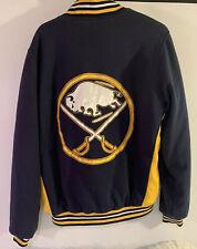 NHL Hockey Men's Buffalo Sabres Reversible Jacket Size Large