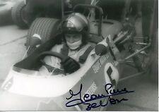 PHOTO AUTOGRAPHE AUTOGRAPH DEDICACE / JEAN PIERRE BELTOISE 1969