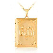 Locket Gold Color Islamic Jewellery Necklaces & Pendants