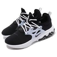 Nike React Presto Black White Men Running Casual Shoes Sneakers AV2605-003