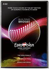 Eurovision Song Contest: 2015 - Vienna / Wien 3 [DVD] *NEU* Drei DVDs