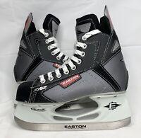 Easton Synergy SYS2 Boys Ice Hockey Skates Black Ice Skates Youth Size 4.0