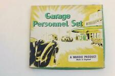 Rare Wardie Products Garage Personnel Set Boxed box interest to Dinky Matchbox