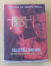 Star Wars Young Jedi CCG  Menace Of Darth Maul Starter Deck NIP