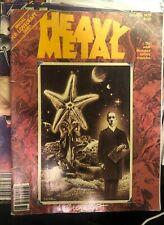Heavy Metal Magazine Vol 3 #6 October 1979 H P Lovecraft Moebius VF- 1977 Series