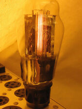 Ultra Rare Early Large Mesh Anode Plate Triode Valve Acpx4a = Px4 Tube 4 Volts.