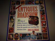 Antiques Roadshow 1999 1990s Calendar Tiffany Lamp Tlingt Wolf Head Mask