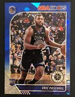 2019-20 NBA Hoops Premium Stock Eric Paschall RC Blue Cracked Ice Prizm Rookie