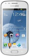 "Samsung Galaxy Trend S7560M White 3G 4"" Screen 5MP Camera Android 4.0.4 Unlocked"