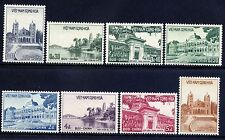 VIETNAM, SOUTH Sc#100-7 1958 Architecture MNH