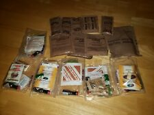 Vintage US Military Army Meals Ready To Eat MRE accessory Glass Tobasco NEW Lot