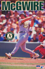 POSTER : MLB BASEBALL : MARK McGWIRE - OAKLAND A'S -  FREE SHIPPING ! RW10 D