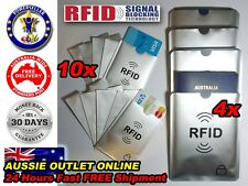 4x Passport 10x RFID Blocking ID Credit Card Protector Sleeve - Best Buy