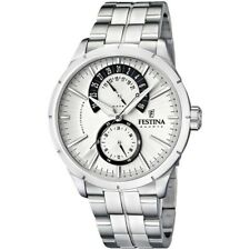 Festina F16632/1 Men's Stainless Steel Silver Dial With Date Chronograph Watch