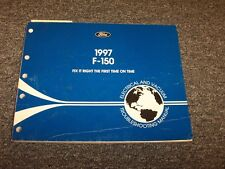 1997 Ford F150 Truck Electrical Wiring & Vacuum Diagram Manual 4.2L 4.6L 5.4L