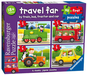 07303 Ravensburger My First Puzzle Travel Far  [Children's Jigsaw Puzzle]