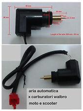 aria starter automatico carburatore WALBRO 2/4 TEMPI vespa et4