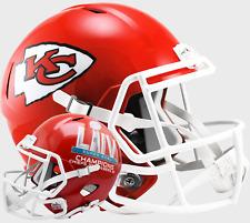KANSAS CITY CHIEFS Super Bowl 54 Riddell SPEED Full Size Replica Football Helmet